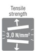 tensile strength 3 n mm