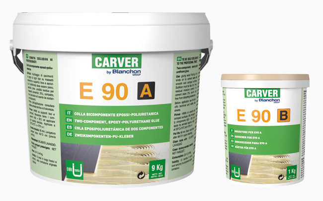 Pack Two-component glue E90